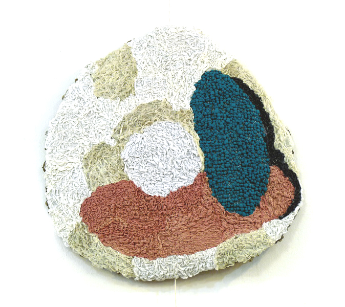 Flori, 2013, textile on wire, diameter 90cm