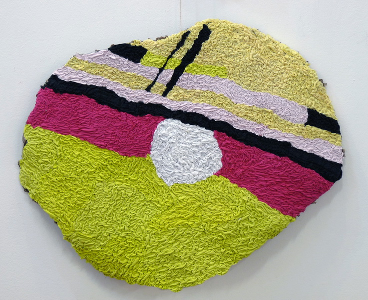 Gabi, 2013, textile on wire, diameter 90cm